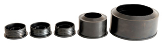 Reducer rubber