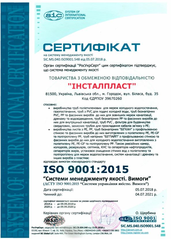 ISO 9001 Quality Management System Quality Management System