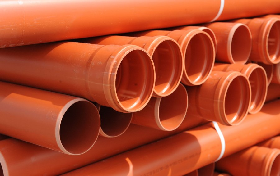 PVC-U pipes for external drainage system