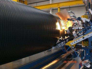 «BIGPIPE» pipes for pressure application
