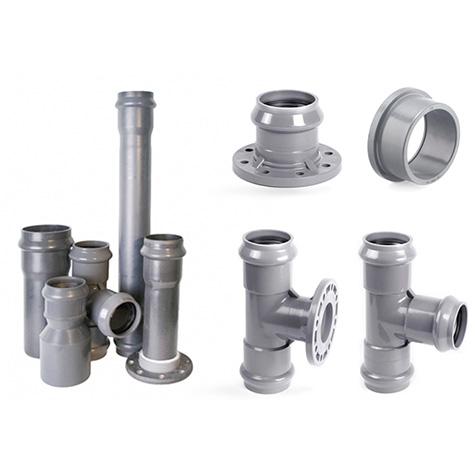 Фасонные изделия из НПВХ для наружных водопроводных сетей