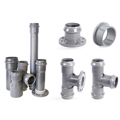 PVC-U fittings for external water-supply systems