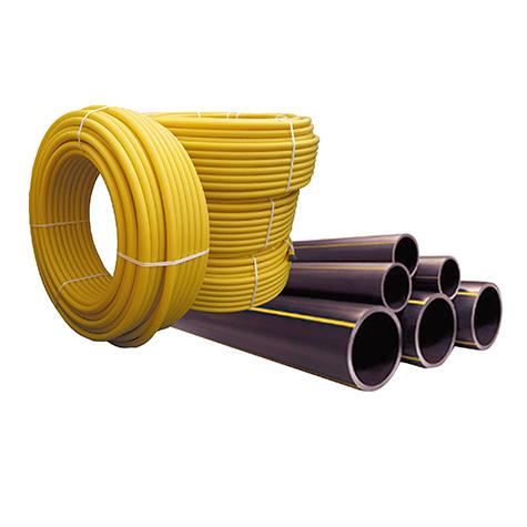 Трубы PE HD 80 для газопроводных сетей